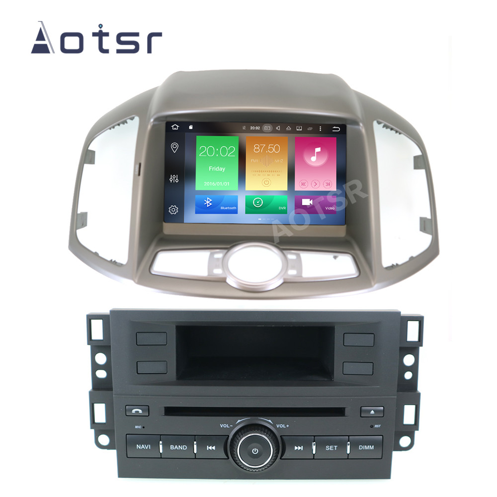 AOTSR Android 10 Car Radio For Chevrolet Captiva 2012 - 2017 Central Multimedia Player GPS Navigation DSP IPS Stereo Autoradio image