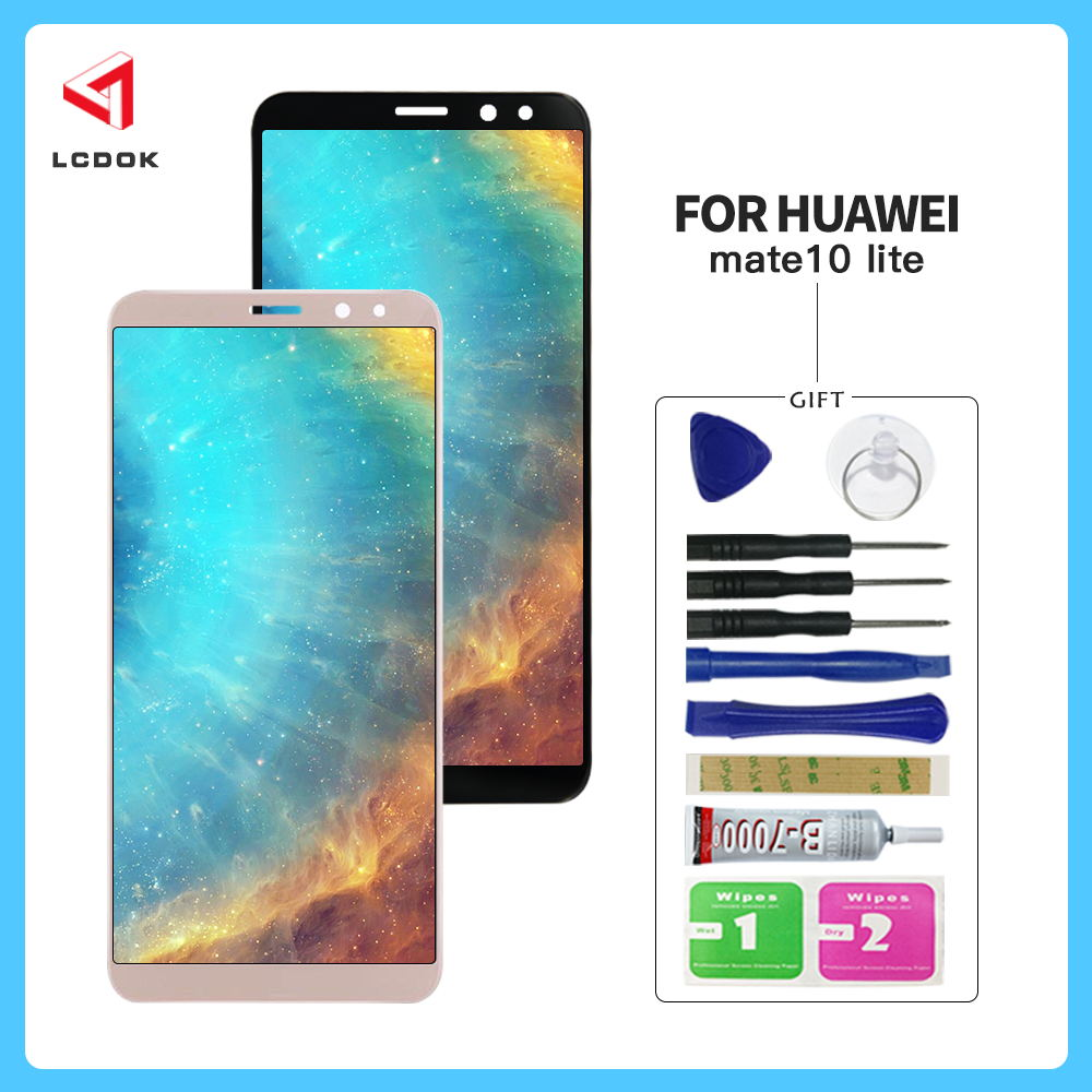 High Quality LCD For Huawei Mate 10 Lite Nova 2i RNE-L01 RNE-L02 RNE-L03 RNE-L21 LCD Display Touch Screen Digitizer Assembly