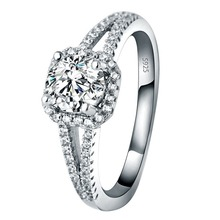 цена на Micro Diamond Ring Silver 925 Jewelry Gemstone Silver Ring Fine Jewelry for Women
