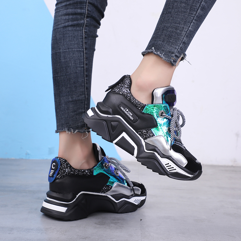 Mesh Style Transformer Sneakers 6