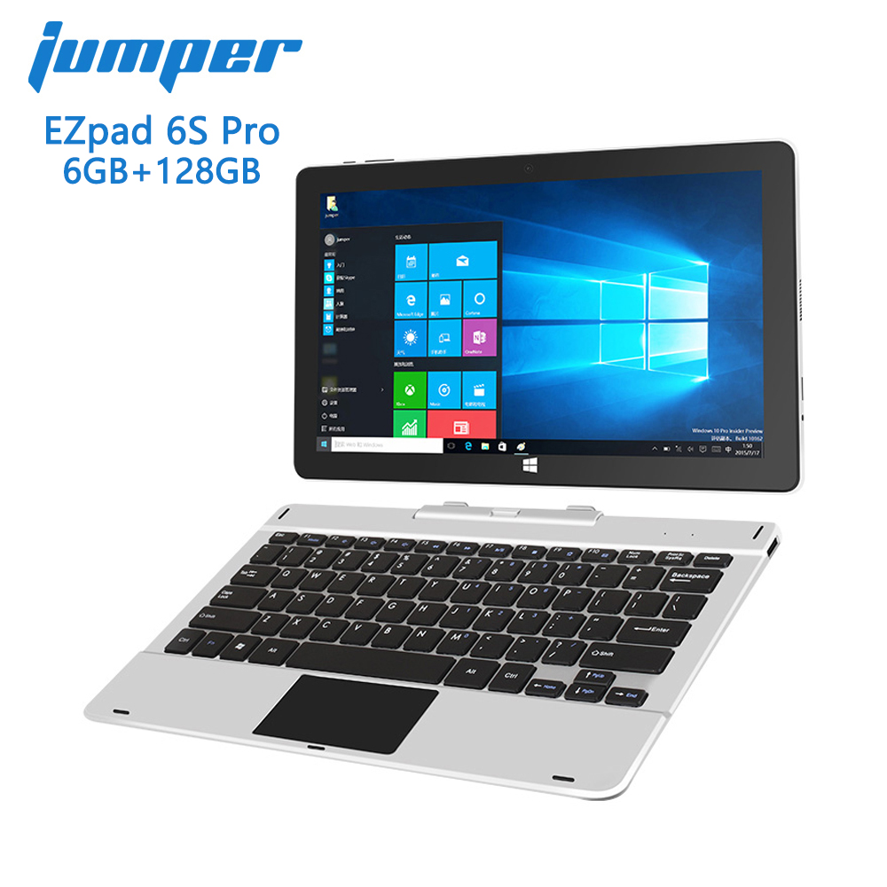 Jumper EZpad 6s Pro 2 in 1 tablet 11 6 inch 1080P IPS display tablet pc Apollo Lake E3950 6GB 128GB windows 10 tablets Laptop