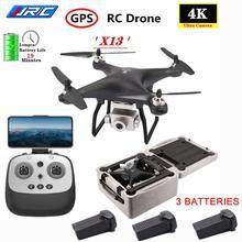 JJRC X13 5G WiFi 4K HD Wide Angle Camera GPS Brushless Motor Profissional RC Quadcopter RC FPV Racin