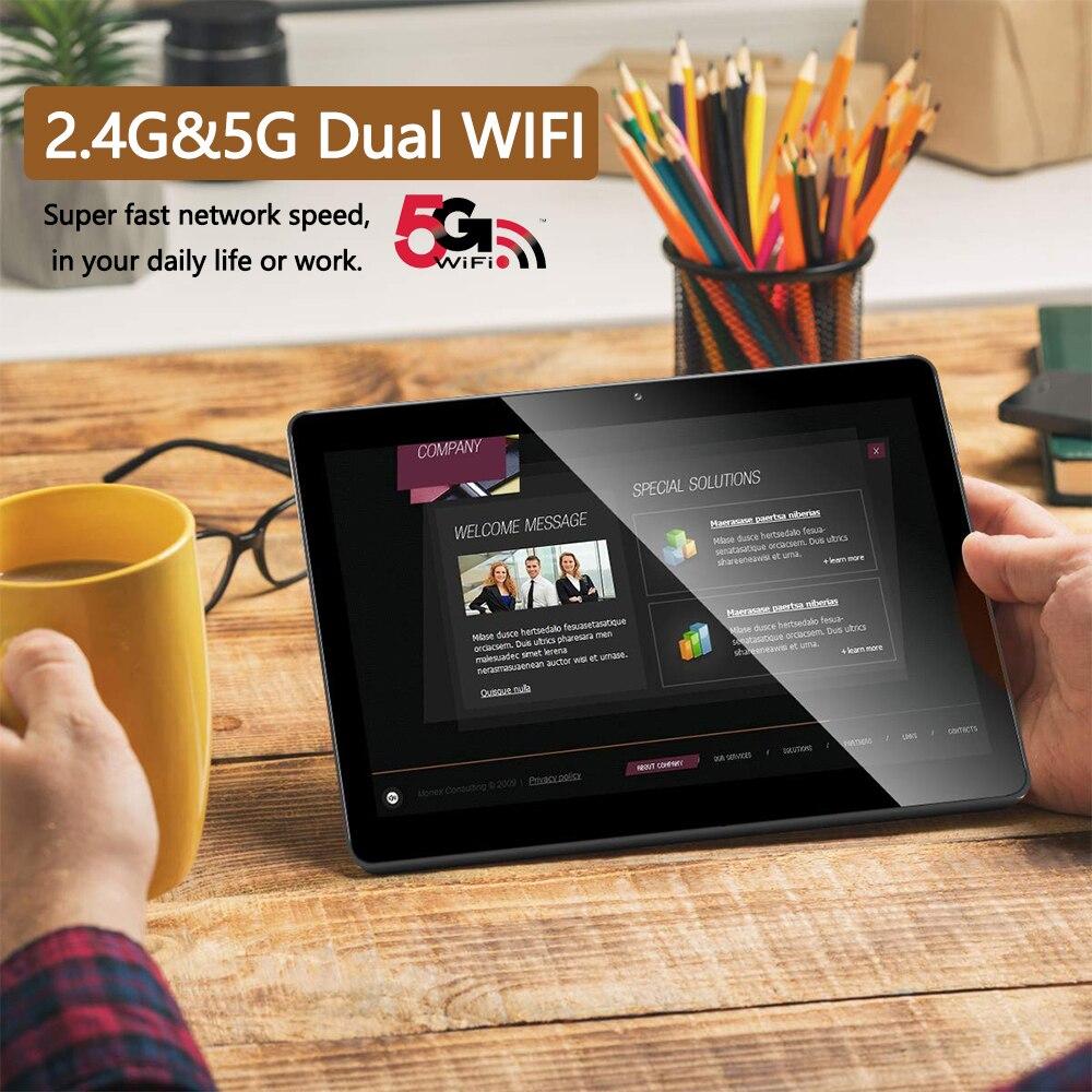 2021 Sales 6G Ram 10 inch Tablet pc 5G Wifi 4G LTE 1280*800 HD Android 9.0 Pie 8 Core Dual cameras телефонная панель для звонков 3