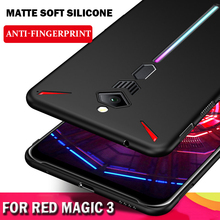Luxury Matte soft Silicone Phone Case For ZTE nubia Red Magic 3 Ultra thin Protective Cover Red Magic 3 NX629J Case Shockproof stylish protective silicone case for 2ds red