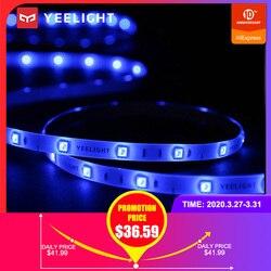 Yeelight الذكية LED قطاع ملون 16 مليون لون ضوء المحيطة قطاع RGB أضواء الشريط مع APP التحكم الصوتي 2 متر ضوء الشريط