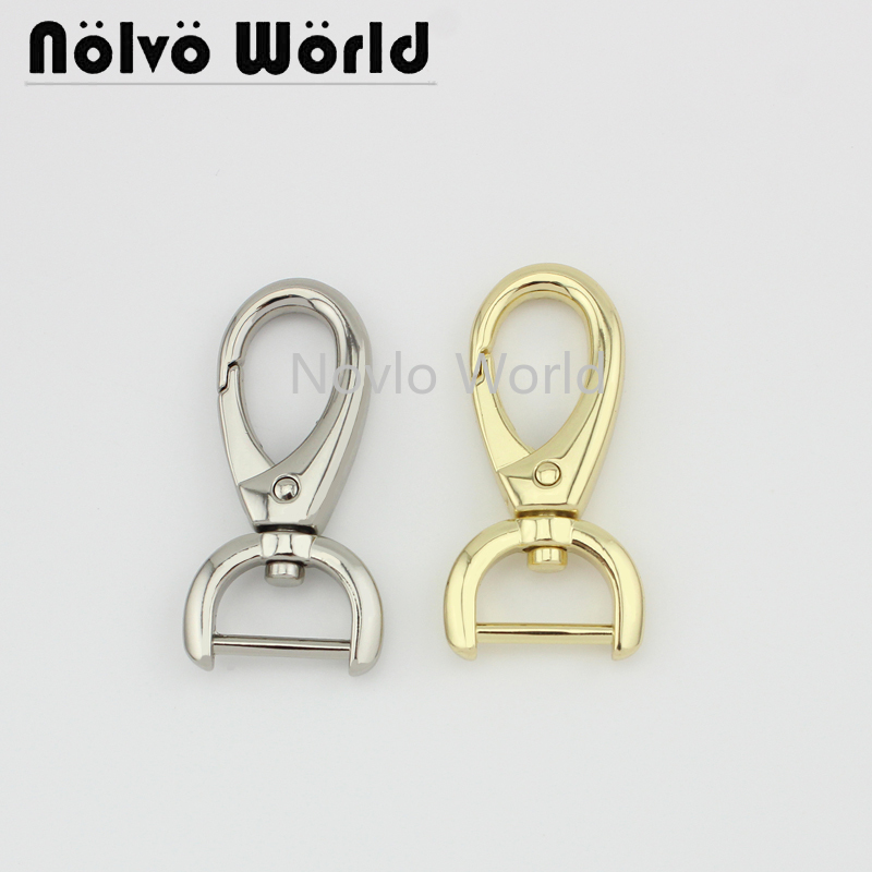 4 Pieces, 4 Colors,  47*16mm, Metal Buckle Dog Collar Buckle Chain Clasp Lobster Swivel Snap Hook Buckle Accessories
