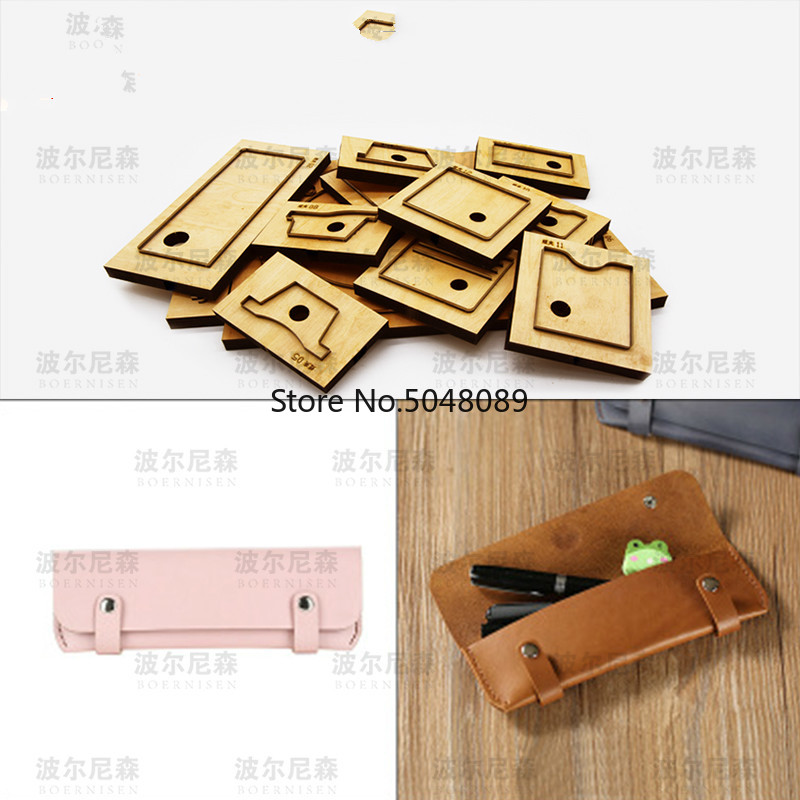 Customized Tool MouldLeather Dies Cutter Japan Steel Blade <font><b>Rule</b></font> Die Cut Steel Punch <font><b>Pen</b></font> Bag Die Cutting Mold for Leather Crafts image