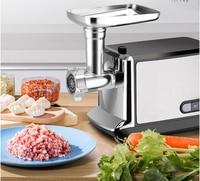 Aço inoxidável casa moedor de carne elétrico salsicha stuffer picador picador casa resistente picador slicer shredder processador alimentos Moedores de carne     -
