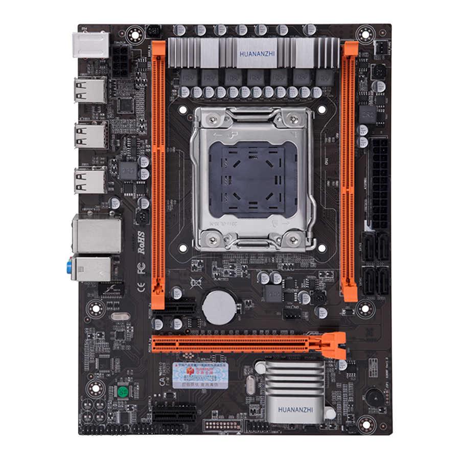 HUANANZHI X79 4M материнская плата LGA 2011 USB2.0 SATA2 поддержка регистровая и ecc-память память и процессор Xeon E5