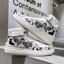 2020 Summer New Style Students Canvas Shoes Hight-top Cloth Shoes Men Korean-style Trend One Piece Shoes MEN'S Casual Shoes сандалии style shoes style shoes st040awtqh23