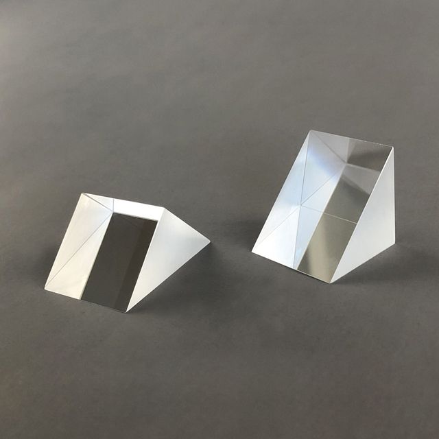 Rechten Winkel Prisma 20*20*20mm Optische K9 Glas Insgesamt Reflexion Prism Teaching Experiment Großhandel Anpassung Vermessung