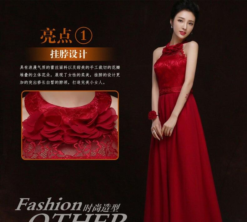 Long Chiffon Bridesmaid Dresses Elegant Maid Of Honor Dresses For Weddings Wine Red Vestido Largo Sirena Sexy Sister Dress Prom