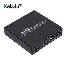 SCART محول HDMI متوافق مع HDMI ، محول Full HD 1080P 3.5 مللي متر ، Coaxia ، محول صوت وفيديو لمشغل DVD