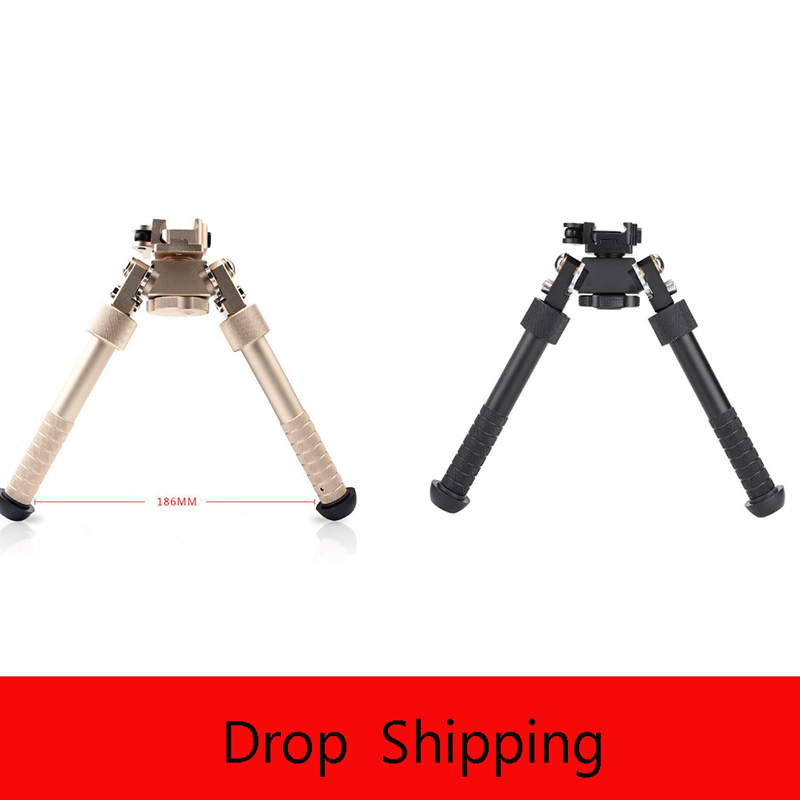 Outdoor Sports High-end Equipment Two Tripod 20mm  Bracket V8 Universal Tripod Telescopic Folding Quick Demolition 360 Deg