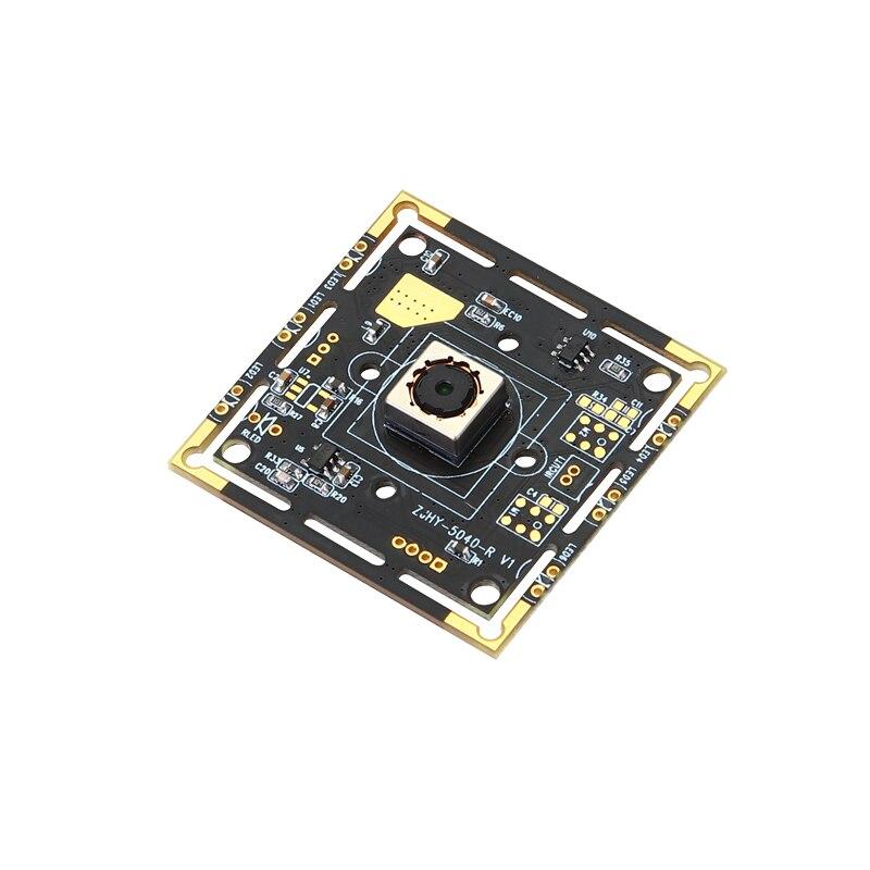 5 mégapixels 25FPS haute fréquence de trame USB Module de caméra Autofocus USB caméra sans lecteur OV5040