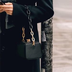 Image 4 - [BXX] Quality PU Leather Crossbody Bags For Women 2020 Box Shaped Shoulder Messenger Bag Lady Travel Handbags and Purses HJ716