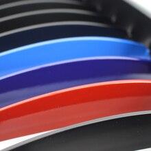 цена на New Brand Matte Black Double Line Racing Grills Car Front Kidney Grilles For BMW E60 E61 2003-2010 M5 5-Series Car Parts Bmw