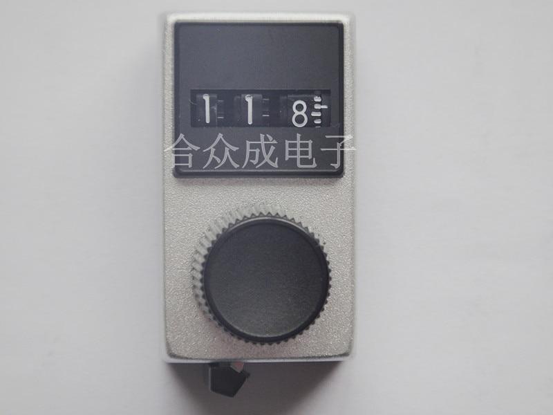 [VK] Spectrol 15-1-11 bouton de comptage numérique bouton multi-tour Original 6.4mm commutateur