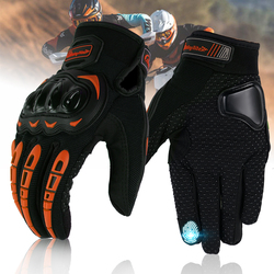 Screen Touch Motorcycle Glove Off-road Riding Cycling Full Finger Gloves For KTM 390 200 125 Duke RC125 RC200 RC390 RC8R 690SM