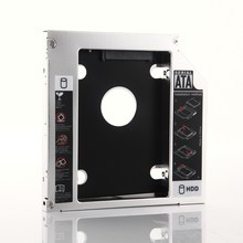 2nd HDD SSD Hard Drive Optical bay Caddy Frame Adapter for Sony VAIO PCG-71211V PCG-71319 VGN-NS240E(China)