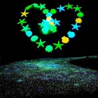 50 stücke Garten Luminous Glowing Stein Glowing Künstliche Pebbles Stones Garten Pfad Blume Topf Decor Landschaft Nachtleuchtende Stein Neuheit Beleuchtung    -