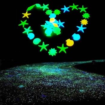 50 stücke Garten Luminous Glowing Stein Glowing Künstliche Pebbles Stones Garten Pfad Blume Topf Decor Landschaft Nachtleuchtende Stein|Neuheit Beleuchtung|   -