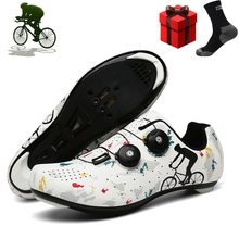 2021 Bicycle Sneaker Men Mountain Bike Shoes Self-Locking Road Racing Ultralight Professional Cycle Sneakers Bicicleta Carretera