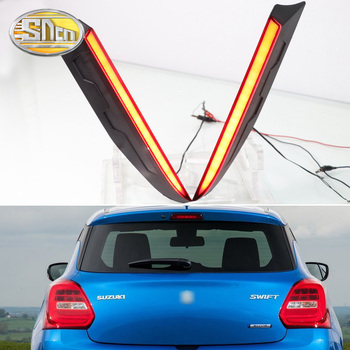 For Suzuki Swift 2018 2019 SNCN Led Rear Trunk Lamp Braking lights Driving Lights rear fog lamp accessories