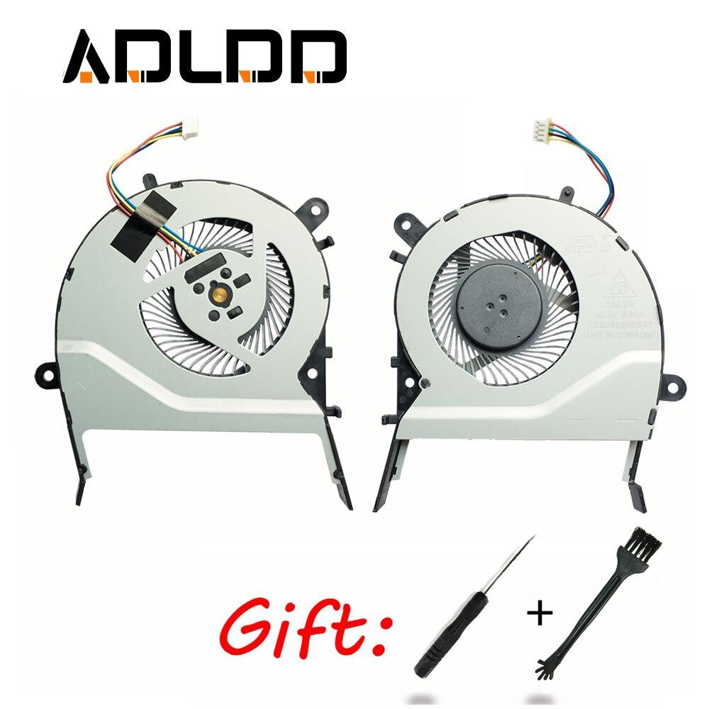 Охлаждающий вентилятор для ASUS X555L A555L K555L F555L X455L A455L K455 X555LD W519L W419L Y583L R556L R557L FL5600L FL5800L FL5900L