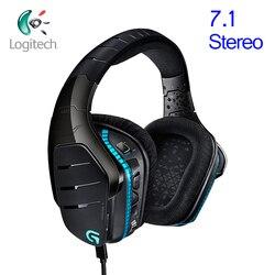 Игровые наушники Logitech 95 New G633 7,1 Surround с шумоподавлением, проводные наушники с микрофоном для Windows PS4 или всех геймеров