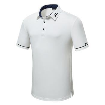 Nowy torba na sprzęt do golfa oddychająca koszulka z krótkim rękawem JL t-shirt do golfa 4 kolor odzież golfowa S-XXL w wyborze koszulka sportowa darmowa wysyłka tanie i dobre opinie Cooyute Poliester Modalne COTTON Włókno bambusowe Szybkie suche Anty-pilling Przeciwzmarszczkowy Wiatroszczelna Koszule