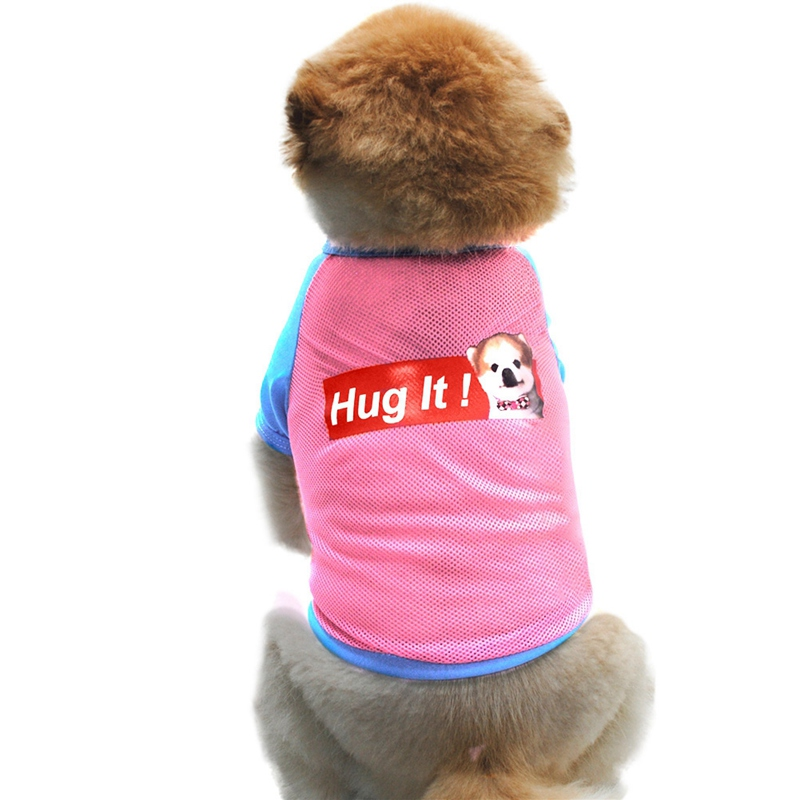 Summer Dog Clothes for Small Dog Clothing Pet Mesh Breathable Vest for Dogs Jacket Clothing for Chihuahua Pet Puppy Costume 9