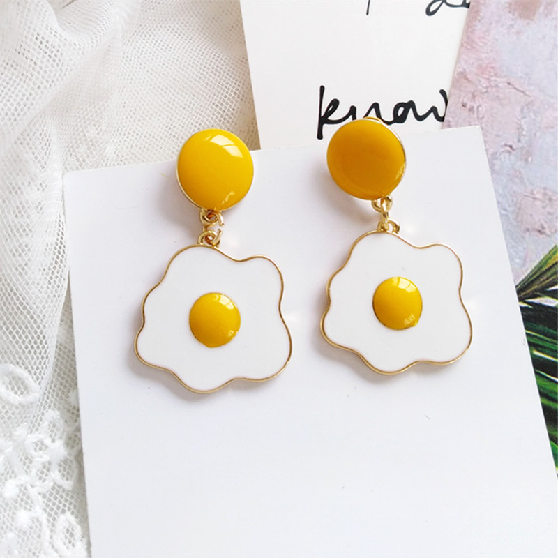 Baby Girl Delicate Lovely Duckbill Clip Poached Egg Hairpin Hair Accessories