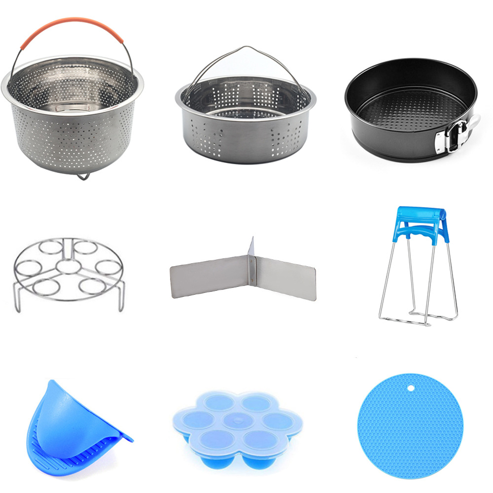304 Stainless Steel Rice Cooker Steamer Rice Cooker Accessories Small Hole Steaming Rack Cross Border Amazon Special For Basket