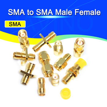 Adapter SMA / RP-SMA to SMA / RPSMA Male Plug & Female Jack Straight & Right angle RF Coaxial connector image