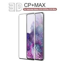NILLKIN 3D MAX Schutz Screen Protector Für Samsung Galaxy S20 Ultra Glas Für Samsung S20 Gehärtetem Glas für Galaxy S20 plus