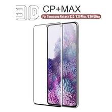 Nillkin 3D Max Beschermende Screen Protector Voor Samsung Galaxy S20 Ultra Glas Voor Samsung S20 Gehard Glas Voor Galaxy S20 plus