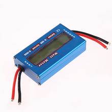 4-60V LCD Display Power Analyser Tragbare Digitale Strom Energy Meter Watt/Volt/Amp Tester Amperemeter solar Wind(China)