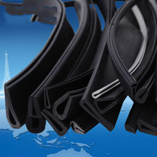 U Channel Rubber Edge Moulding Trim Weather Strip Car Door Protector Edge Guard Rubber Sealing