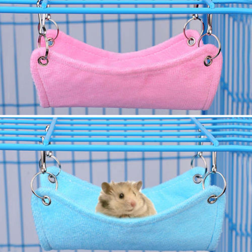 Hamster Hammock Rat Parrot Ferret Hamster Hanging Bed Cushion Hamster House Cage Accessories For Hamsters