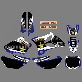 For YAMAHA YZ85 2002-2014 Graphics Decals Stickers Custom Number Name 3M Full  Motorcycle Backgrounds Stickers Accessories