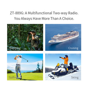 Image 5 - Zastone 889G GPS ווקי טוקי 10W 999CH 3000mAh UHF 400 520/VHF136 174MHz חם CB רדיו HF משדר עבור לחקור ציד