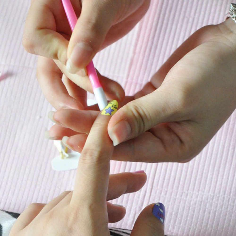 1 pc unha arte laranja vara de madeira cutícula empurrador removedor pedicure manicure ferramenta ferramentas de cuidados para a remoção da cutícula manicure arte do prego