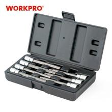 "WORKPRO 7PC 3/8"" Dr. Socket set  Long Bit Sets Home Tool Kits"