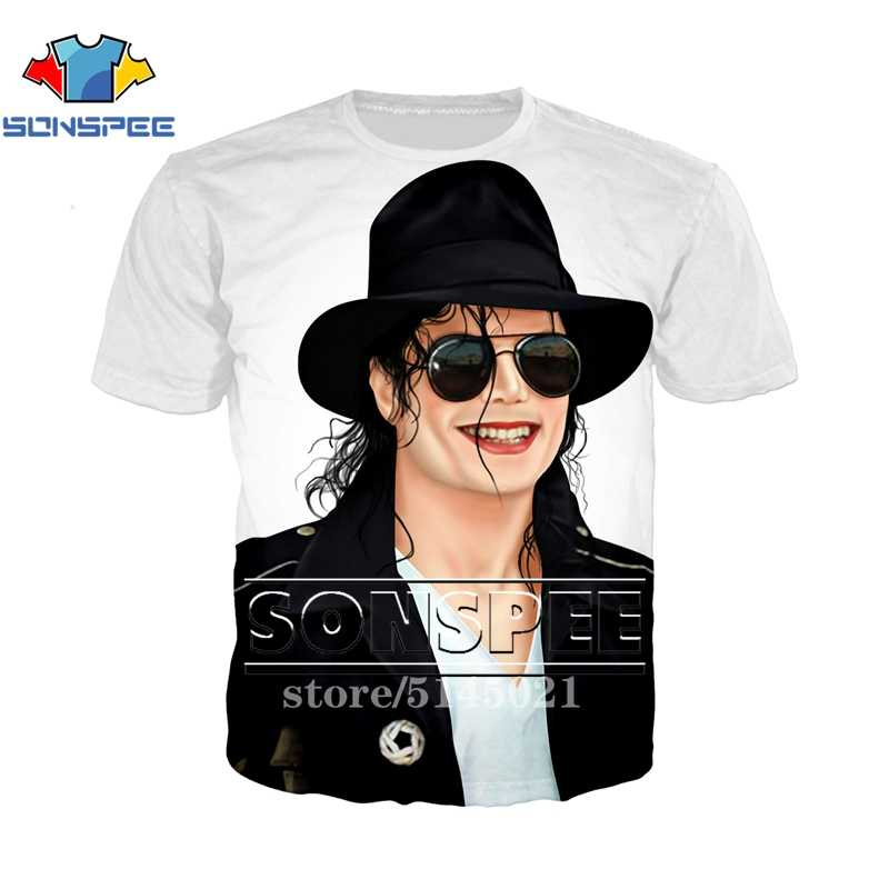 Anime 3d print t shirt Michael Jackson Men Women fashion t-shirt streetwear rock kid Harajuku tees Funny shirts homme tshirt S27