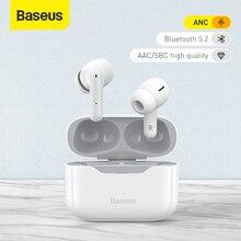 Baseus TWS Tai Nghe Chụp Tai Bluetooth 5.2 Không Dây Tai Nghe S1/S1 Pro Chủ Động Loại Bỏ Tiếng Ồn Tai Nghe Nhét Tai 4Mic ANC Âm Thanh HiFi Trò Chơi tai Nghe