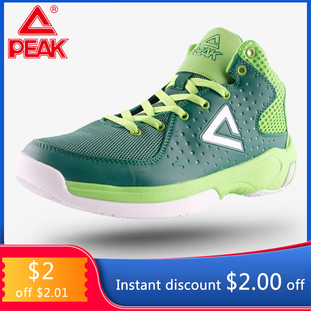 PEAK Basketball Shoes Winter Professional Damping Sport Shoes Breathable Non slip Outdoor Footwear Basketball Men Sneakers|Basketball Shoes|   - AliExpress