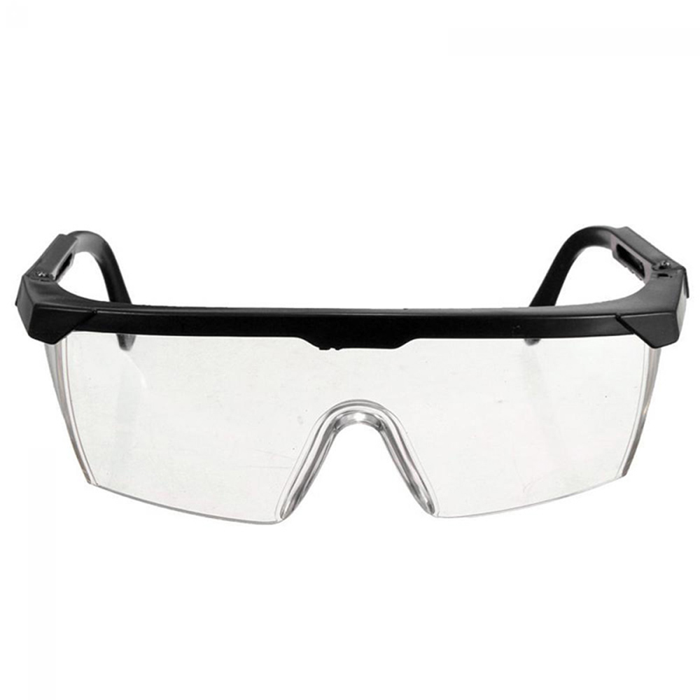 New 1Pcs Protective Glasses Work Safety Glasses Anti-Fog Windproof Goggles Adjustable Goggles Outdoor Sports Eyewear