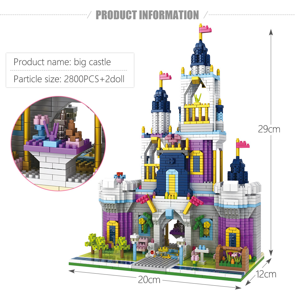 jardim mini tijolos princesa conto de fadas