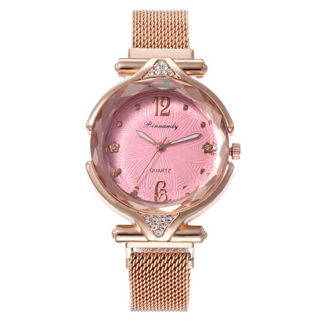Модные женские кварцевые часы с магнитной пряжкой и ремешком Миланского цвета, женские наручные часы reloj mujer relogio feminino